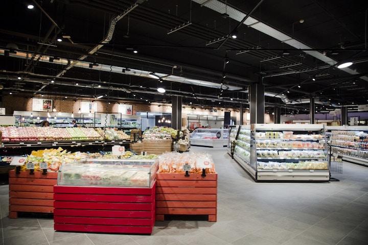 Delhaize supermarché concept 2018