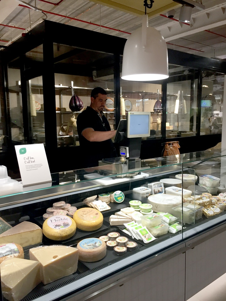 Auchan Luxembourg, lifestore, 2019, fromagerie
