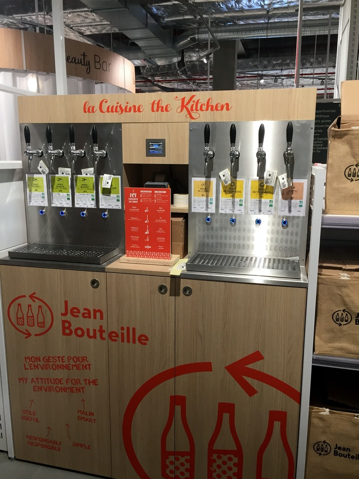 Auchan Luxembourg, lifestore, 2019, Jean Bouteille