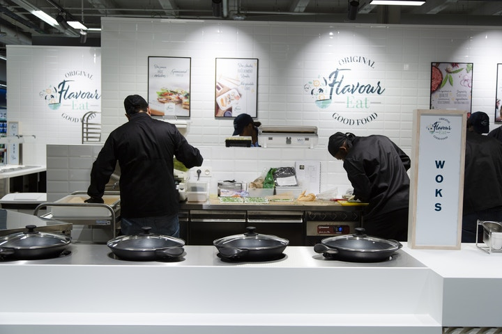 Hypermarché Carrefour Evere, Flavour Eat