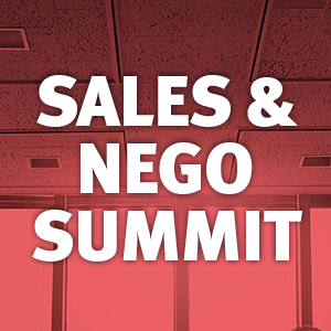 Sales & Nego Summit op Donderdag 19 September