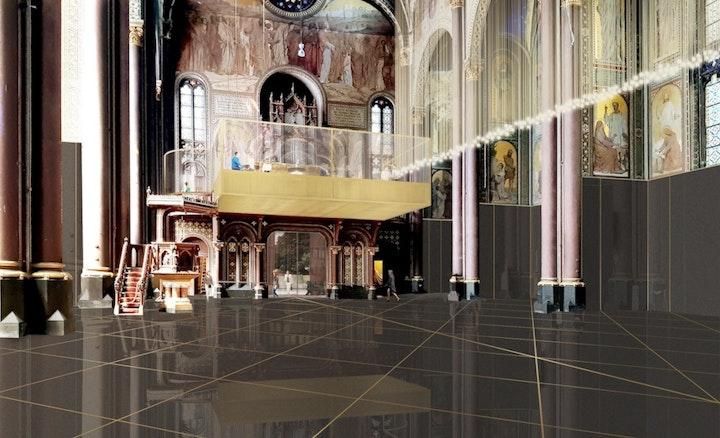 Delhaize, Sint-Annakerk