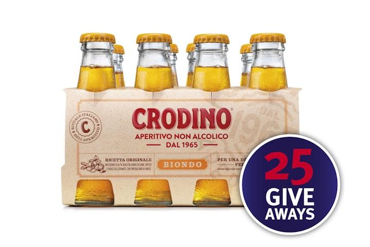 Crodino, giveaway, DIN
