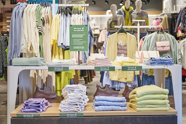ZEB, The Vintage Shop, duurzaamheidsplan