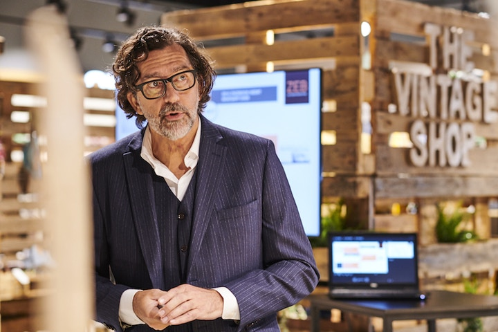 Luc Van Mol, ZEB, The Vintage Shop, duurzaamheidsplan