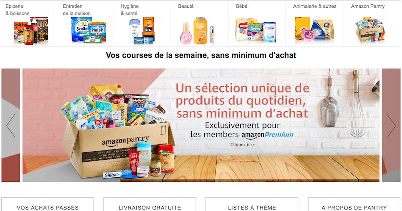 Amazon Lance Son Service De Livraison De Courses En Belgique
