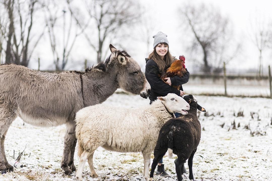 Sofie, une blogueuse de 23 ans, végane depuis déjà 4 ans