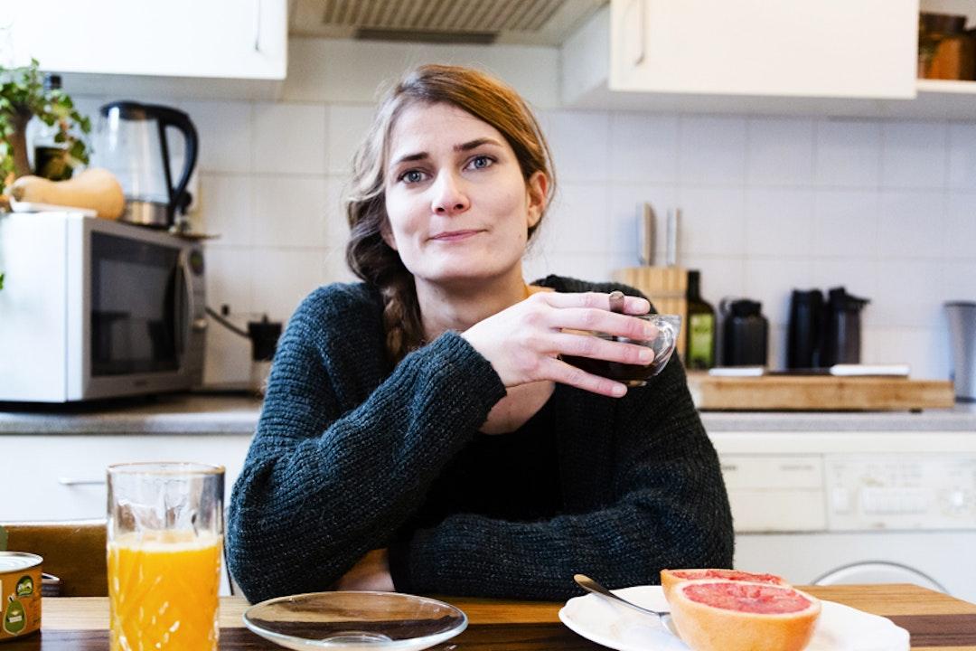 Lynn, 31 jaar, vegetariër tussen haar 15de en 20ste, en veganist sinds oktober 2017