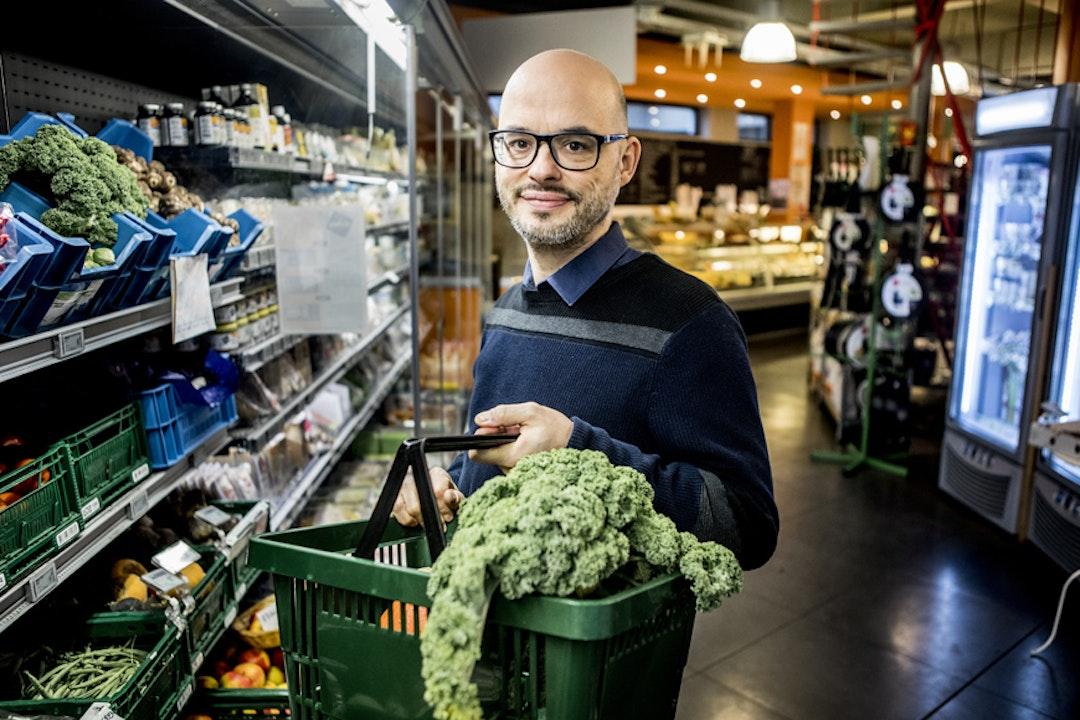 Tobias, 45 ans, fondateur de l'organisation végétarienne EVA